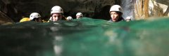 Deep water canyoning in Marbella