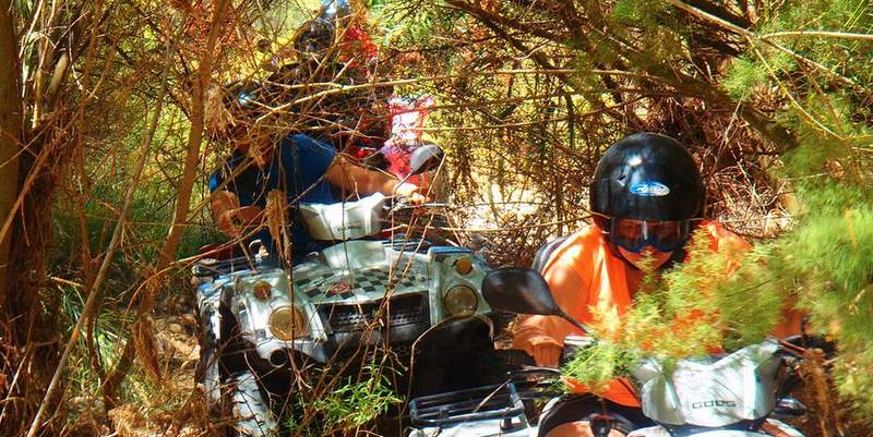 Quad biking with Marbella Activities Group